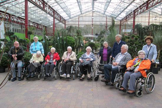 Ausflug zum Dingers Gartencenter in Köln