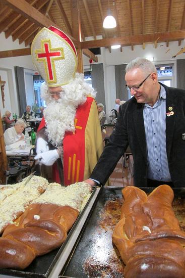 Weckmann-Essen mit dem St. Martins Komitee Neuss Grimlinghausen