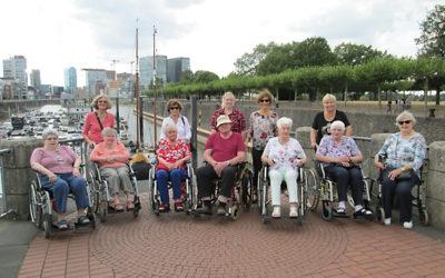 Ausflug zum Fernmeldeturm Düsseldorf