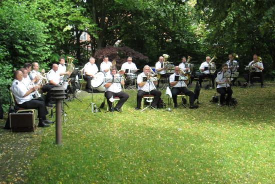 Konzert der Schützenkapelle Neuss-Furth